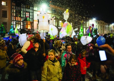 leamington spa christmas parade 2014